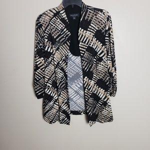 ♥️2/$20 Perceptions Open Front Cardigan Jacket
